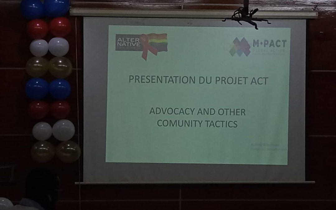 Soirée de récompense du projet ACT